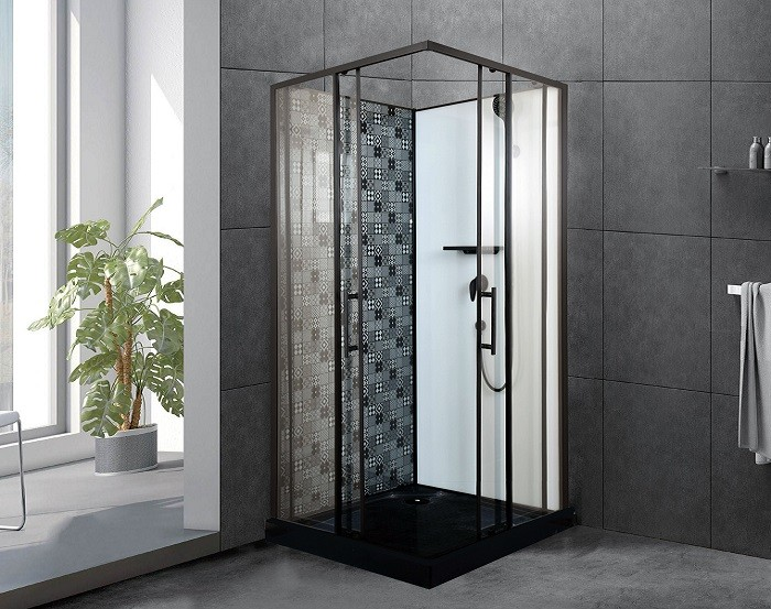 Cabina de ducha ESBANO ESB-100CK (Negro)