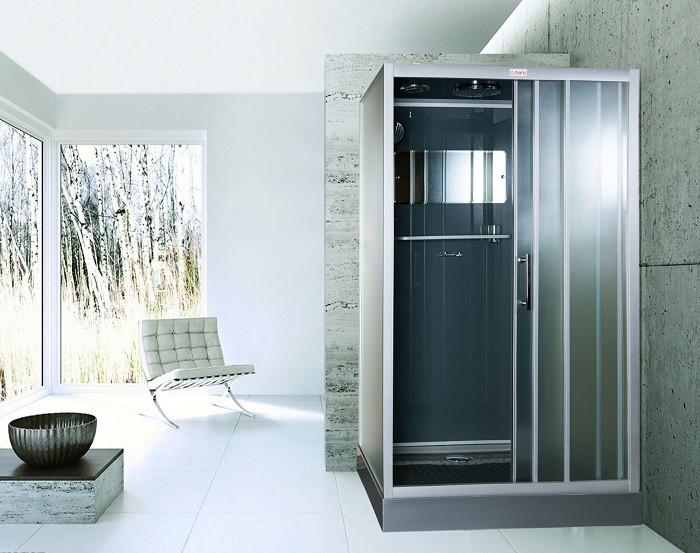 Cabina de ducha ESBANO ESG-3129CKR (Gris)
