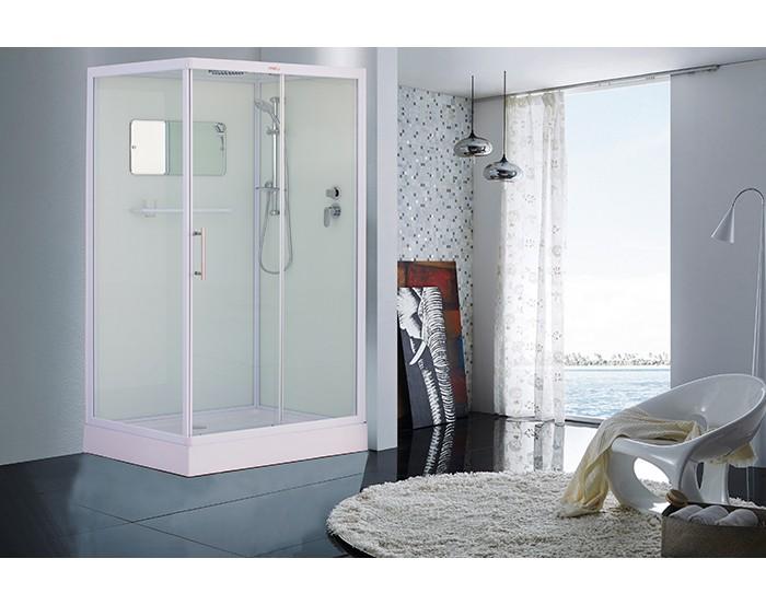 Cabina de ducha ESBANO ESW-129CKR (Blanco)