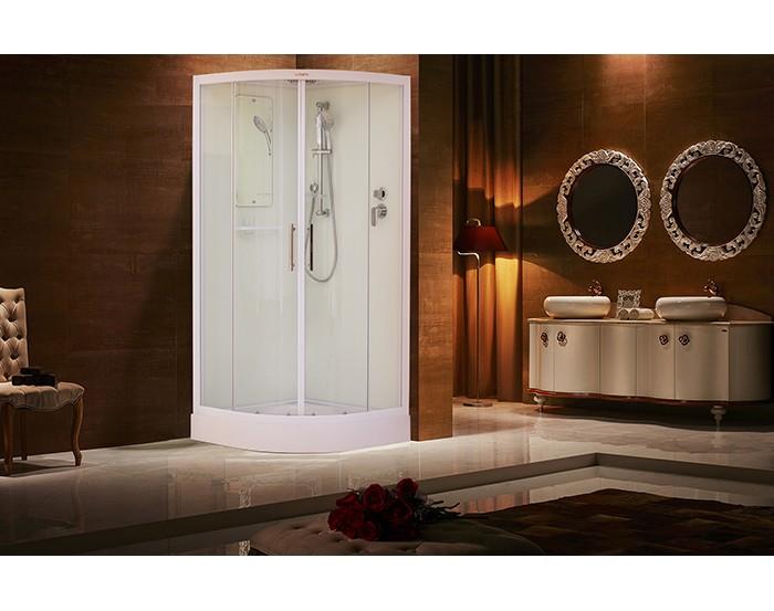 Cabina de ducha ESBANO ESW-90CR (Blanco)