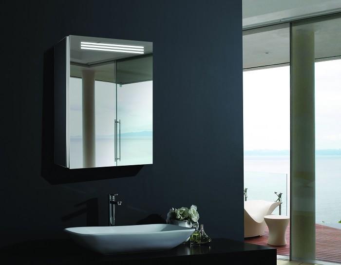 Espejo de bano con cabinete ESBANO ES-2402