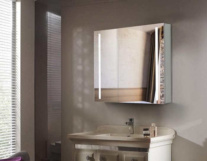 Espejo de bano con cabinete ESBANO ES-2404