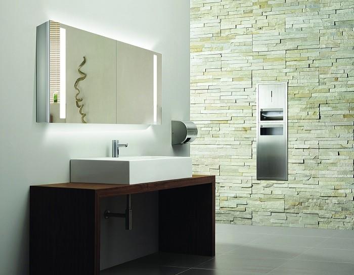 Espejo de bano con cabinete ESBANO ES-2406