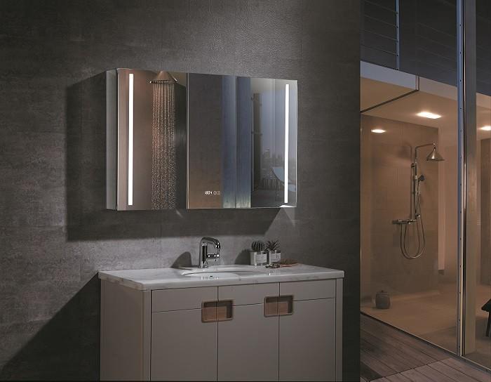 Espejo de bano con cabinete ESBANO ES-2408
