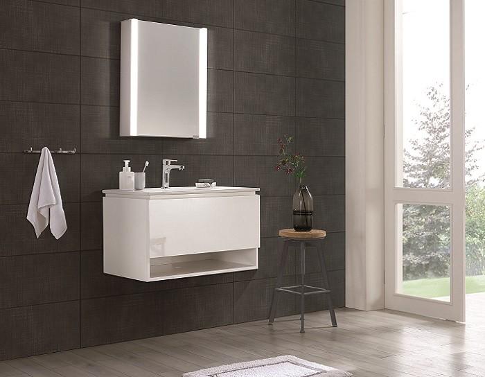 Espejo de bano con cabinete ESBANO ES-3814