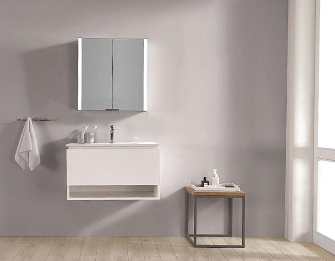 Espejo de bano con cabinete ESBANO ES-3815