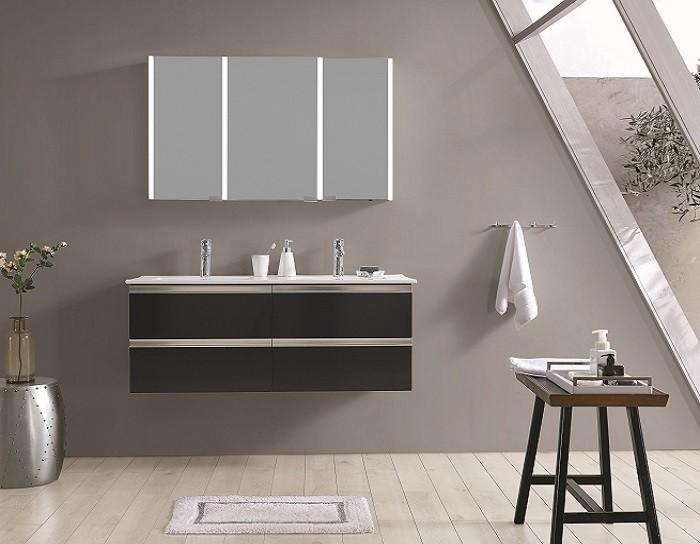 Espejo de bano con cabinete ESBANO ES-3819