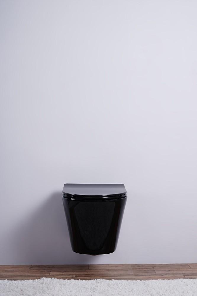 Inodoro colgante ESBANO CLAVEL (Negro)