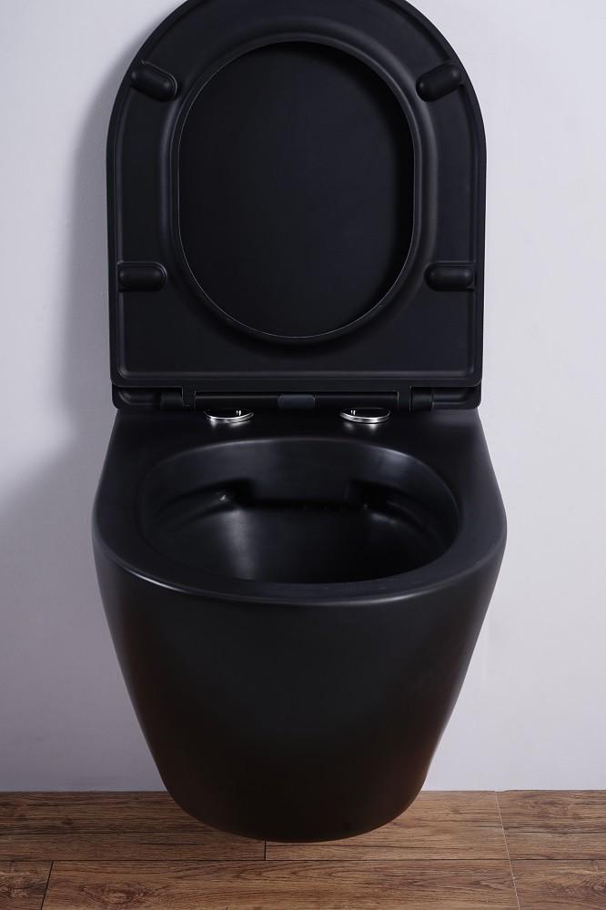 Inodoro colgante ESBANO AZALEA (Mate Negro)